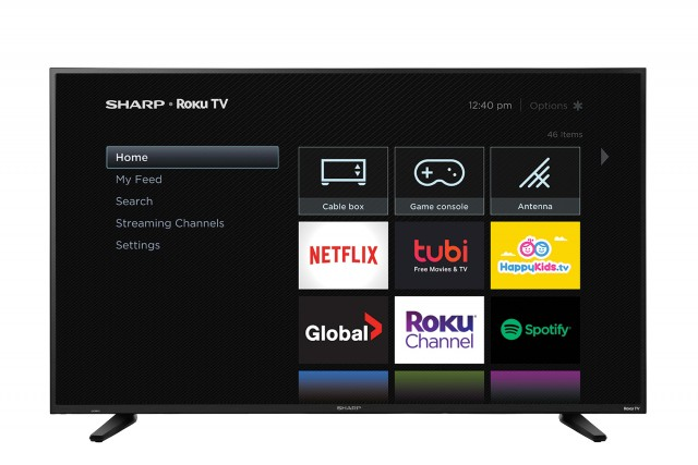 "58"" 4K UHD HDR LED ROKU SMART TV"
